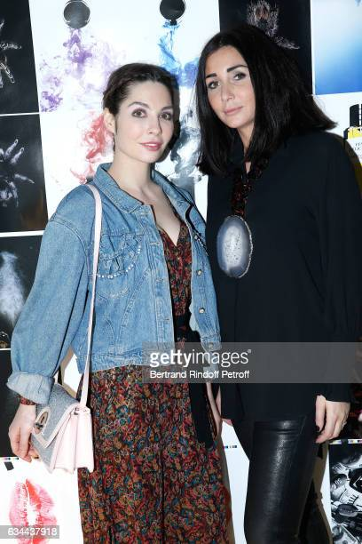 Alix Benezech and Margaux Reiffers attend the Launching of the Book 'Mocafico Numero' at Studio des Acacias on February 9 2017 in Paris France