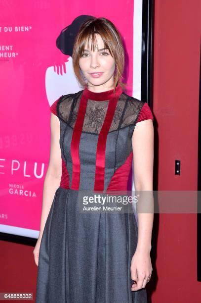 Alix Benezech attends the 'De Plus Belle' Paris premiere at Publicis Champs Elysees on March 6 2017 in Paris France