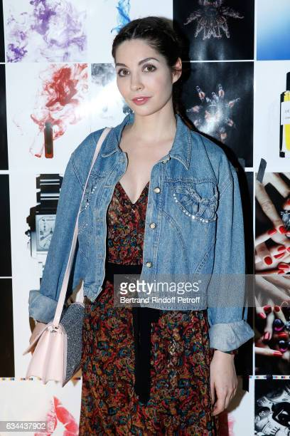 Alix Benezech attends the Launching of the Book 'Mocafico Numero' at Studio des Acacias on February 9 2017 in Paris France