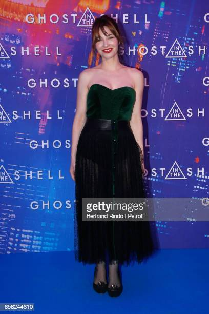 Alix Benezech attends the Paris Premiere of the Paramount Pictures release 'Ghost in the Shell' Held at Le Grand Rex on March 21 2017 in Paris France