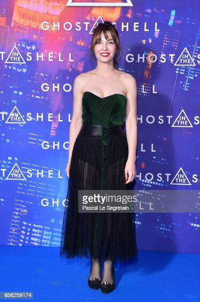 Alix Benezech attends the Paris Premiere of the Paramount Pictures release 'Ghost In The Shell' at Le Grand Rex on March 21 2017 in Paris France