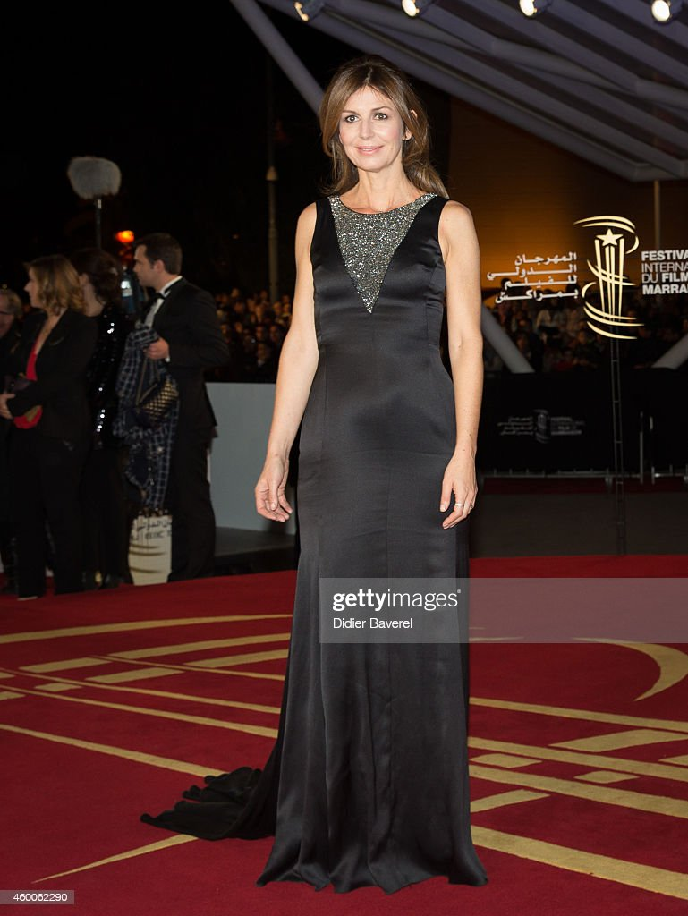Alix Delaporte attends the Tribute to Jeremy Irons as part of the 14th Marrakech International Film Festival December 6, 2014 in Marrakech, Morocco.