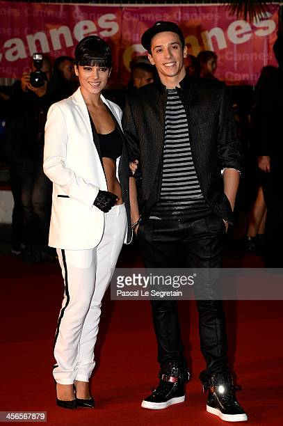 Alizee and Gregoire Lyonnet attend the 15th NRJ Music Awards at Palais des Festivals on December 14 2013 in Cannes France