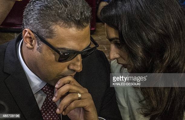 AlJazeera journalist Canadian Mohamed Fahmy accused along with Egyptian Baher Mohamed of supporting the blacklisted Muslim Brotherhood in their...