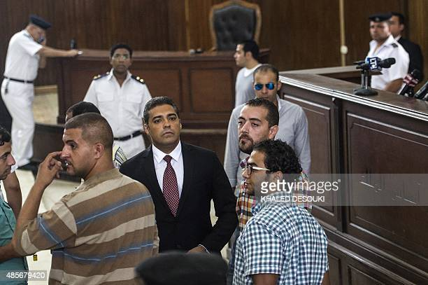 AlJazeera journalists Canadian Mohamed Fahmy and Egyptian Baher Mohamed both accused of supporting the blacklisted Muslim Brotherhood in their...