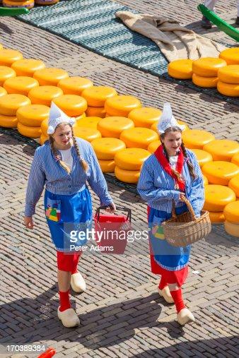 Alkmaar Cheese Market, Alkmaar, Holland