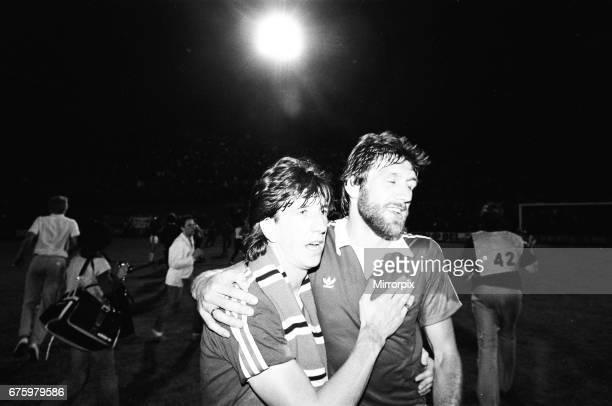 AZ Alkmaar v Ipswich Town 2nd leg match of UEFA Cup Final at the Olympic Stadium in Amsterdam May 1981 Paul Mariner Final score AZ Alkmaar 42 Ipswich...