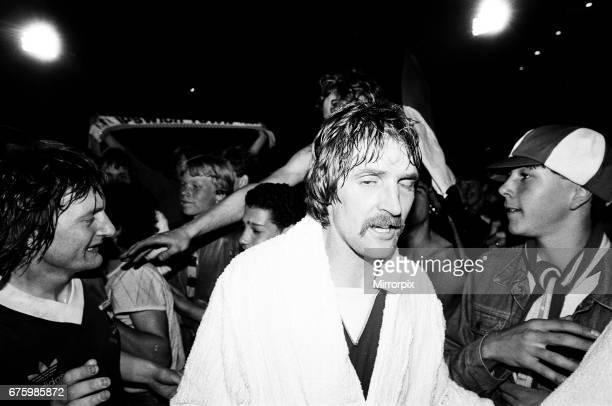 AZ Alkmaar v Ipswich Town 2nd leg match of UEFA Cup Final at the Olympic Stadium in Amsterdam May 1981 Frans Thijssen Final score AZ Alkmaar 42...