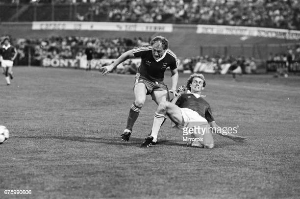 AZ Alkmaar v Ipswich Town in action during 2nd leg match of UEFA Cup Final at the Olympic Stadium in Amsterdam May 1981 Final score AZ Alkmaar 42...