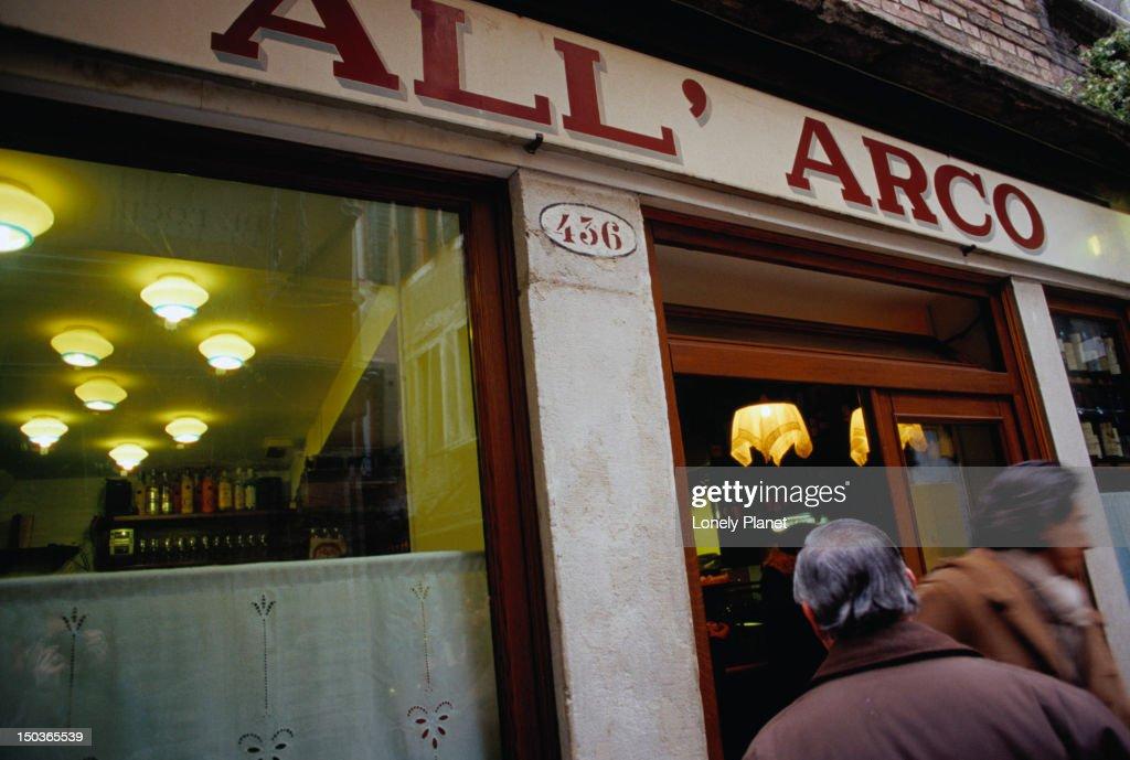 All' Arco, osteria, San Polo, Venice