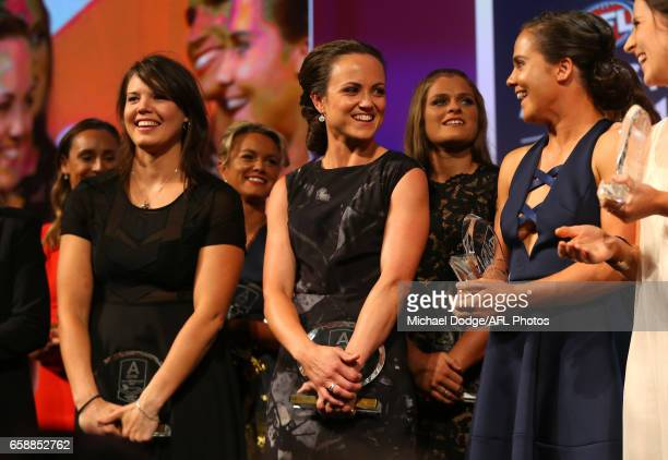 All Australian Captain Daisy Pearce of the Demons looks on during the The W Awards at the Peninsula on March 28 2017 in Melbourne Australia