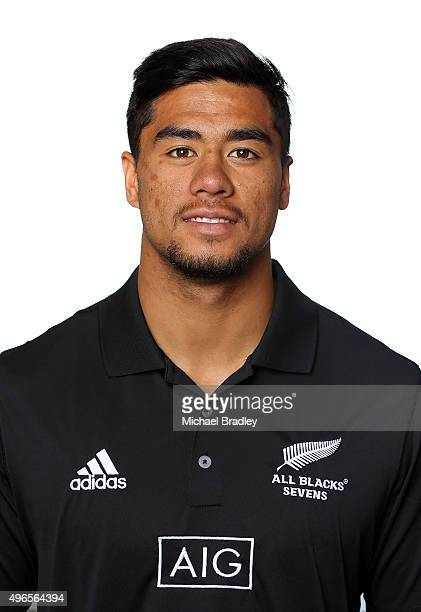 All Black Rugby Sevens player Regan Ware on November 11 2015 in Auckland New Zealand