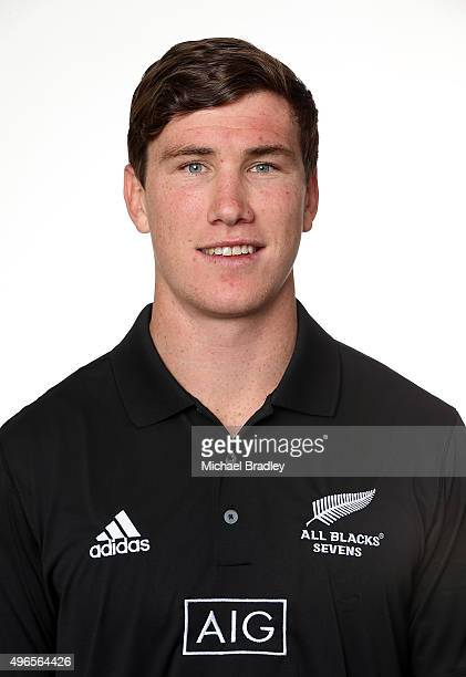 All Black Rugby Sevens player Sam Dickson on November 11 2015 in Auckland New Zealand