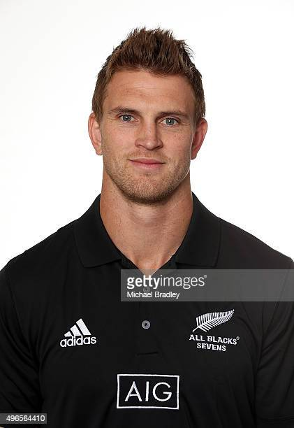 All Black Rugby Sevens player Scott Curry on November 11 2015 in Auckland New Zealand