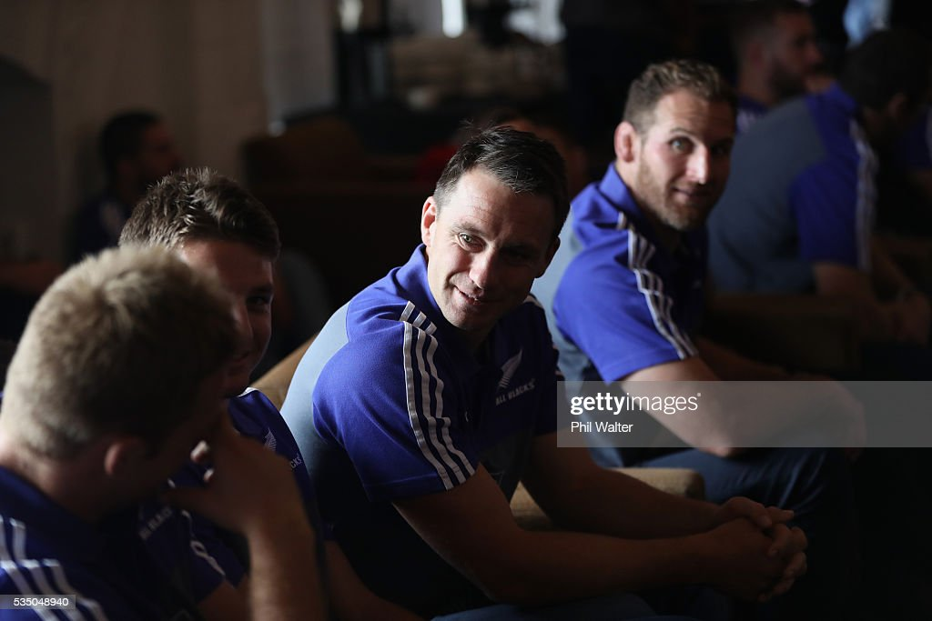 All Black vice captain Ben Smith during the New Zealand All Blacks squad announcement at The Heritage Hotel on May 29, 2016 in Auckland, New Zealand.