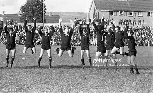 All Blacks haka before the Munster game