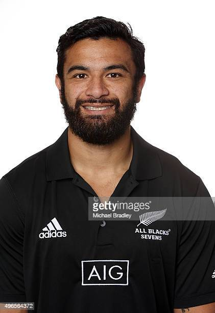 All Blacks Sevens player Sherwin Stowers on November 11 2015 in Auckland New Zealand