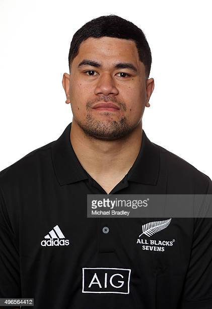 All Blacks Sevens rugby player Sosi Tuimavave on November 11 2015 in Auckland New Zealand