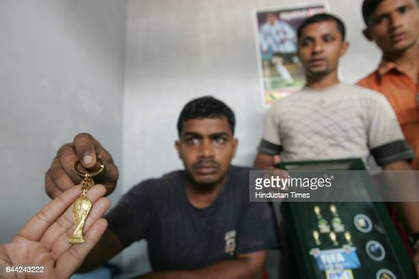All Charged up Fazal NV who lost his motorbike during the last world cup betting is set for another innings