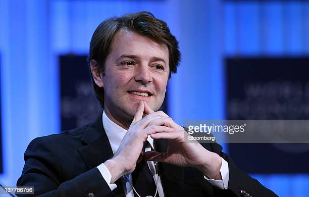 All Chris Ratcliffe Sessions Francois Baroin France's finance minister speaks during a session on day three of the World Economic Forum in Davos...