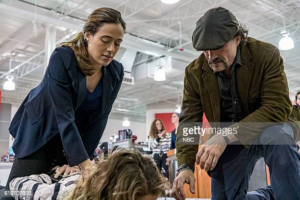 D 'All Cylinders Firing' Episode 405 Pictured Marina Squerciati as Kim Burgess Elias Koteas as Alvin Olinsky