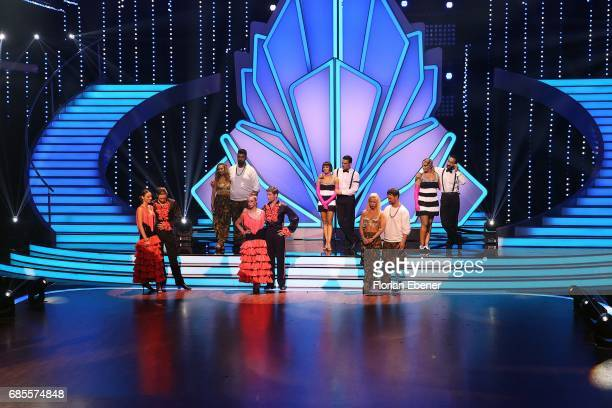 All dancer of the show during the 9th show of the tenth season of the television competition 'Let's Dance' on May 19 2017 in Cologne Germany