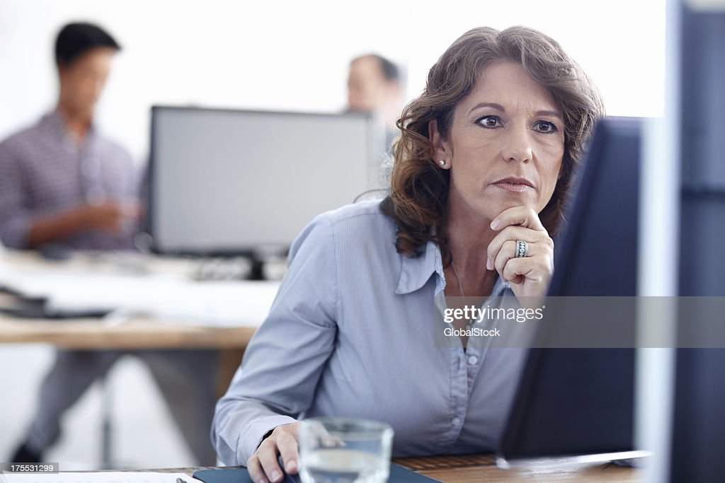 All her hard work will pay off in the end : Stock Photo