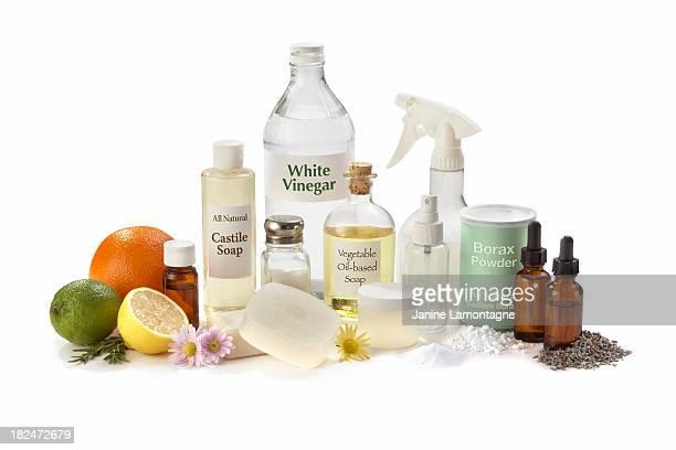 Tous les produits de nettoyage naturel pour la maison