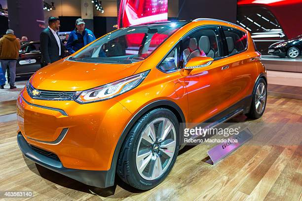 CENTRE TORONTO ONTARIO CANADA All new 2016 Chevrolet Bolt EV in the Canadian International AutoShow CIAS for short is Canada's largest auto show and...