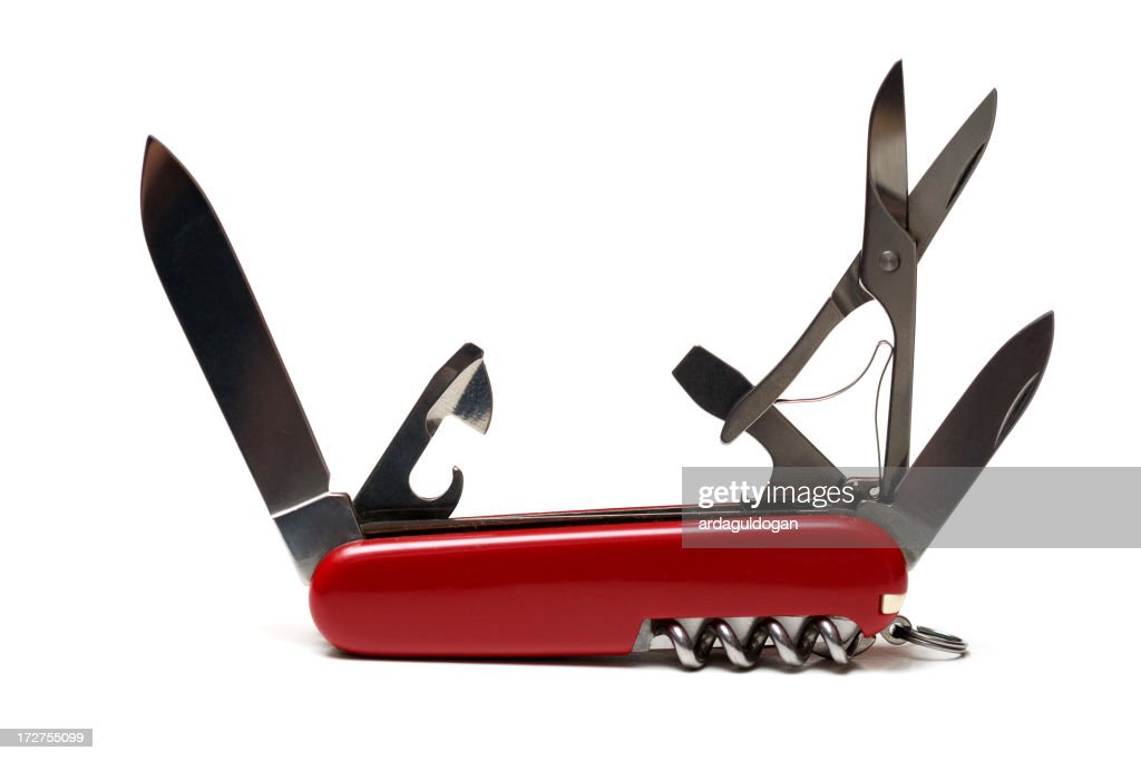 All Purpose Knife -Open-