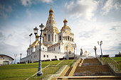 All Saints Church In Minsk, Belarus. Eastern Europe
