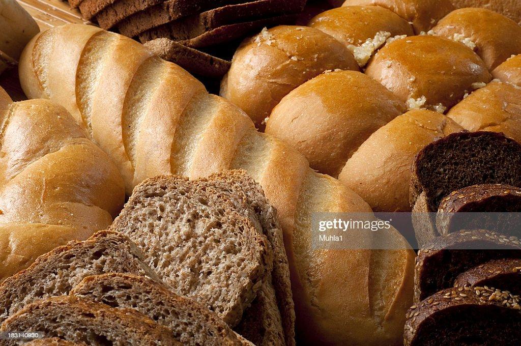 Alle Arten von Brot : Stock-Foto