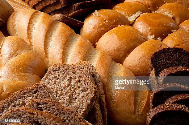 All sorts of bread