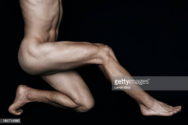 All terrain endurance athlete Kilian Jornet Burgada is photographed for the New York Times on February 11 2013 in Aosta Italy