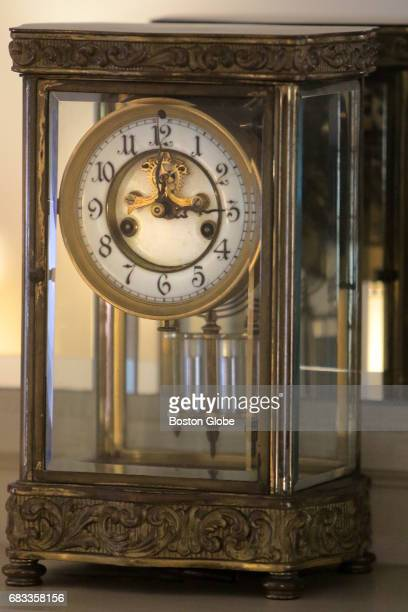 All the clocks in the home are set for 300 the hour of John F Kennedy's birth at the JFK birthplace in Brookline MA on Apr 30 2017 The National Park...