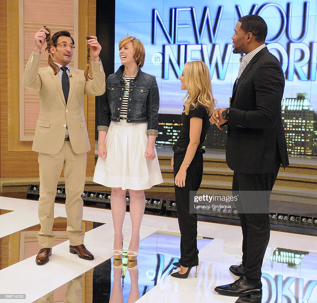 "MICHAEL -5/6/13 - All this week, Kelly and Michael are bringing deserving moms to New York to be transformed during ""New You in New York Makeover Week"" styled by LAWRENCE ZARIAN on 'LIVE with Kelly and Michael,' distributed by Disney-ABC Domestic Television. LAWRENCE"