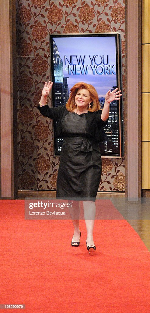 """MICHAEL -5/7/13 - All this week, Kelly and Michael are bringing deserving moms to New York to be transformed during """"New You in New York Makeover Week"""" styled by LAWRENCE ZARIAN on 'LIVE with Kelly and Michael,' distributed by Disney-ABC Domestic Television. JENNIFER"""