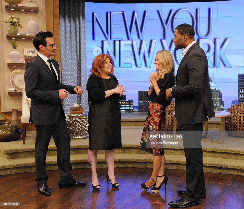 """MICHAEL -5/7/13 - All this week, Kelly and Michael are bringing deserving moms to New York to be transformed during """"New You in New York Makeover Week"""" styled by LAWRENCE ZARIAN on 'LIVE with Kelly and Michael,' distributed by Disney-ABC Domestic Television. STRAHAN"""