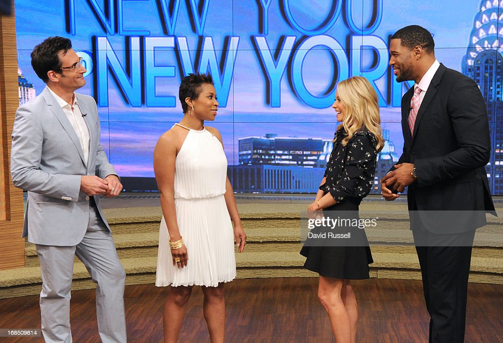 "MICHAEL -5/9/13 - All this week, Kelly and Michael are bringing deserving moms to New York to be transformed during ""New You in New York Makeover Week"" styled by LAWRENCE ZARIAN on 'LIVE with Kelly and Michael,' distributed by Disney-ABC Domestic Television. LAWRENCE"