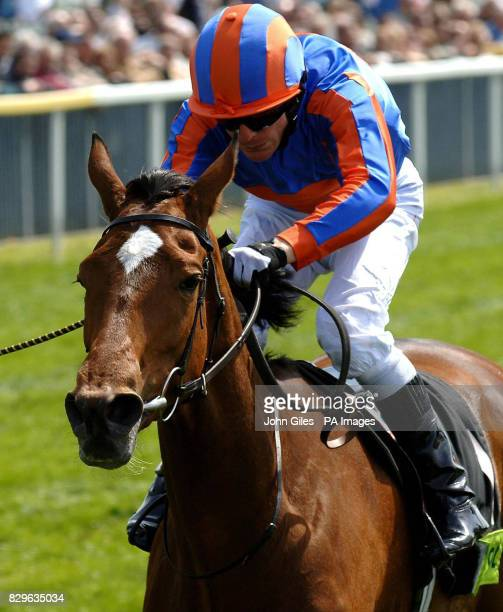 All Too Beautiful ridden by Kieren Fallon owned by Michael Tabor and Mrs J Magnier wins the Totepool Middleton Stakes