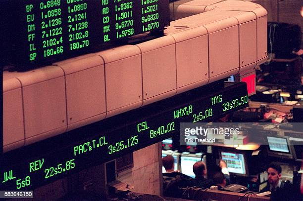 All trading at the New York Stock Exchange made the switch this morning from halves quarters and eighths to the decimal system Photo by Erik...