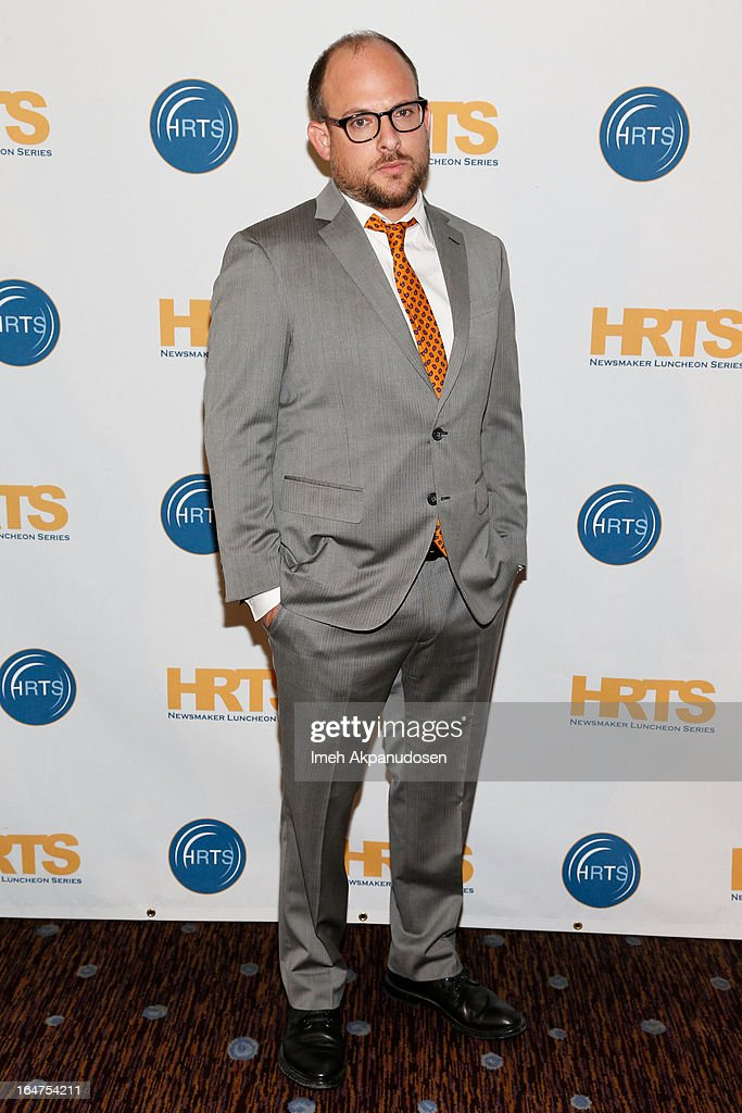 All3Media America President Eli Holzman attends the HRTS 'Non-Scripted Hitmakers' Luncheon Panel at The Beverly Hilton Hotel on March 27, 2013 in Beverly Hills, California.