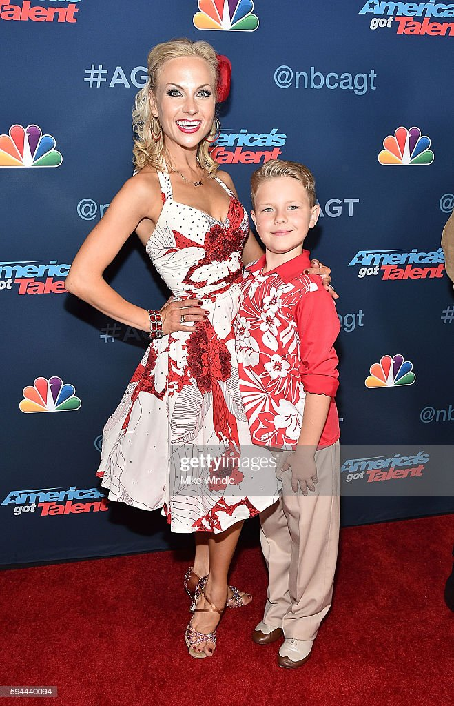 Alla & Daniel attend the 'America's Got Talent' Season 11 Live Show at Dolby Theatre on August 23, 2016 in Hollywood, California.