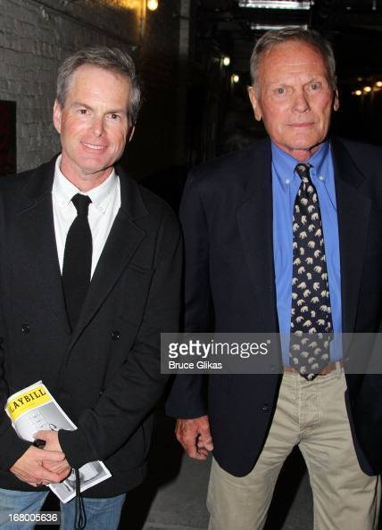 Celebrities Visit Broadway - May 3, 2013 | Getty Images Tab Hunter Partner