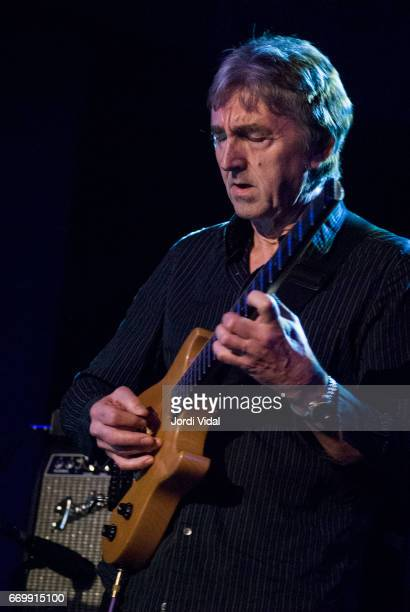 Allan Holdsworth performs on stage during Festival de Guitarra at Sala Bikini on April 8 2006 in Barcelona Spain