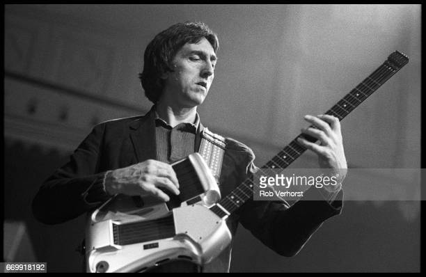 Allan Holdsworth performs on stage Paradiso Amsterdam Netherlands 15th June 1987