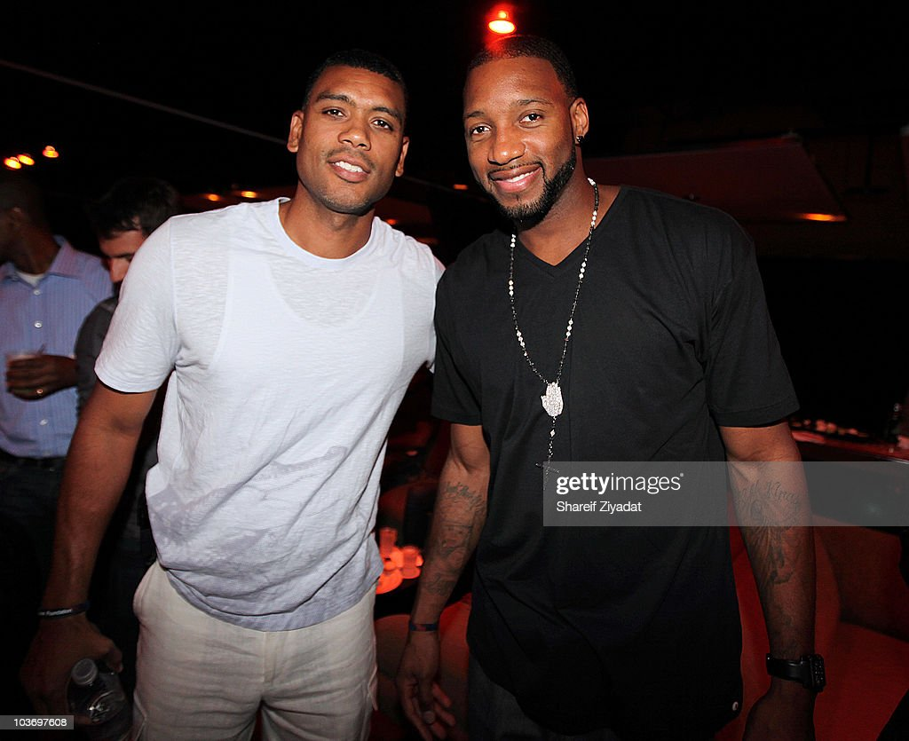 <a gi-track='captionPersonalityLinkClicked' href=/galleries/search?phrase=Allan+Houston&family=editorial&specificpeople=202550 ng-click='$event.stopPropagation()'>Allan Houston</a> and <a gi-track='captionPersonalityLinkClicked' href=/galleries/search?phrase=Tracy+McGrady&family=editorial&specificpeople=201486 ng-click='$event.stopPropagation()'>Tracy McGrady</a> attends the 2010 Celebrity Bowling Tournament & Party at Lucky Strike on August 27, 2010 in New York City.