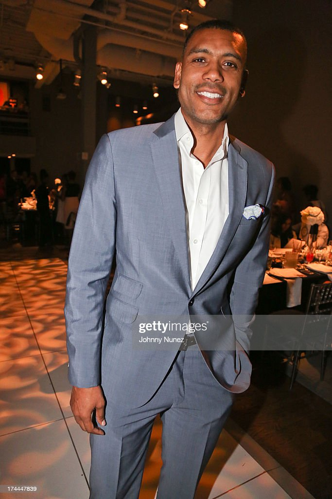 <a gi-track='captionPersonalityLinkClicked' href=/galleries/search?phrase=Allan+Houston&family=editorial&specificpeople=202550 ng-click='$event.stopPropagation()'>Allan Houston</a> attends the 3rd Annual New Orleans to New York Benefit Gala at Donna Karan's Stephen Weiss Studio on July 25, 2013 in New York City.