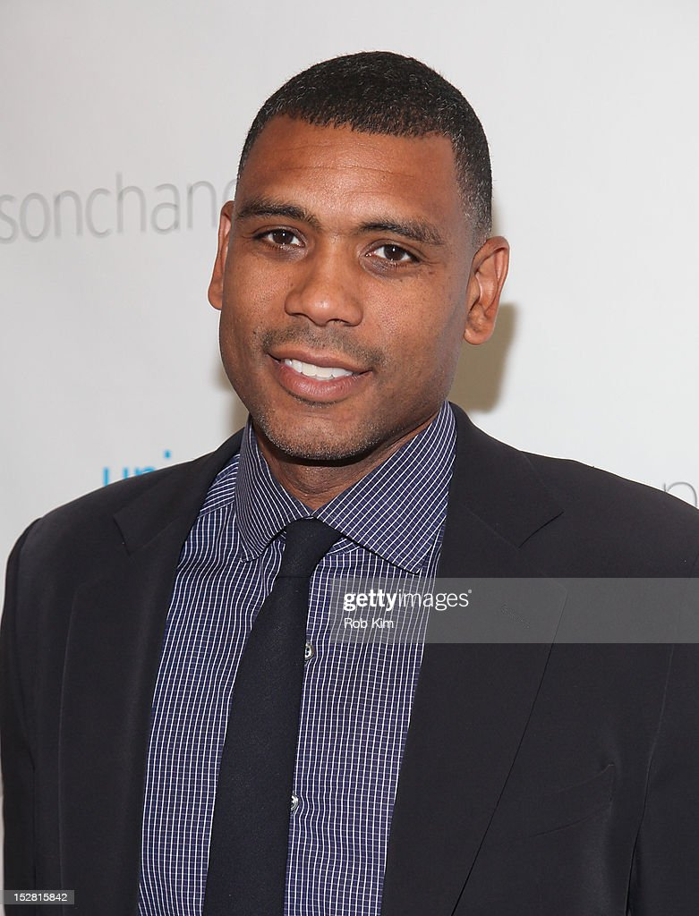 Allan Houston attends the 'A Year In A New York Minute' photo exhibition opening at Canoe Studios on September 26, 2012 in New York City.