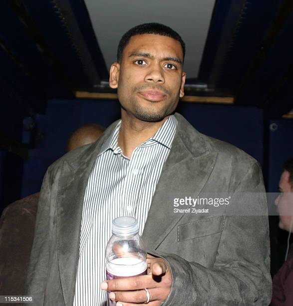Allan Houston during Allan Houston Birthday Party at Supper Club in New York City New York United States